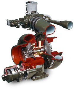 aircraft turbocharging system